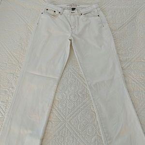 Ralph Lauren white/cream jeans